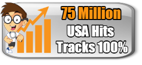 NEW- 75 MILLION USA HITS-$9.58-TRACKS 100% IMPROVED